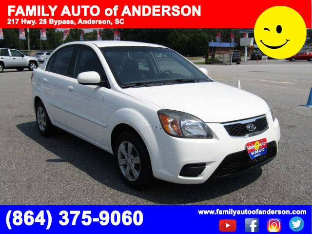 used kias near me family auto of anderson 2011 kia rio lx quick approval auto loans budget. Black Bedroom Furniture Sets. Home Design Ideas