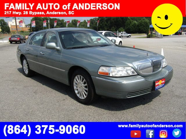 Used Lincoln Near Me Family Auto Of Anderson 2004 Lincoln Town Car