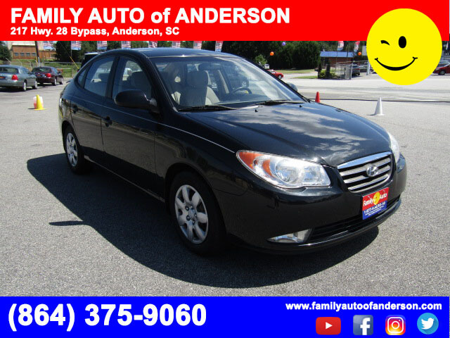 used cars near me family auto of anderson 2008 hyundai elantra budget friendly quick approval. Black Bedroom Furniture Sets. Home Design Ideas