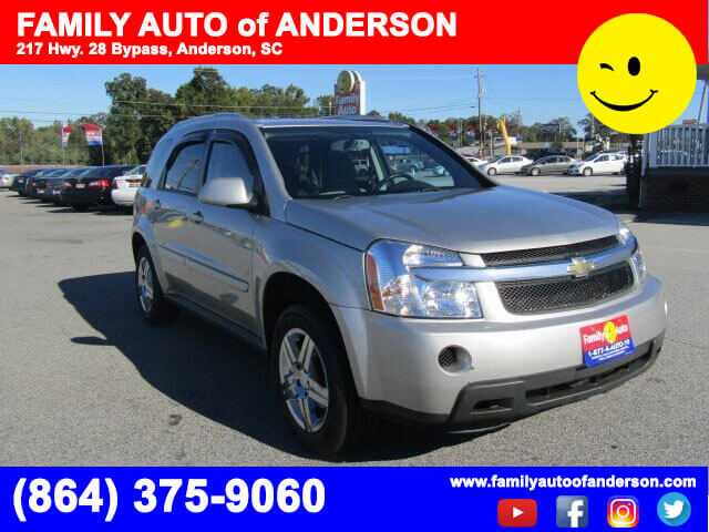 used chevys used suvs family auto of anderson 2008 chevrolet equinox lt bad credit no credit. Black Bedroom Furniture Sets. Home Design Ideas