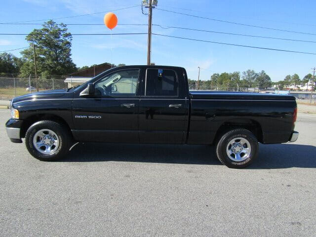 used work trucks used dodge used trucks anderson family auto of anderson 2003 ddoge ram 1500. Black Bedroom Furniture Sets. Home Design Ideas