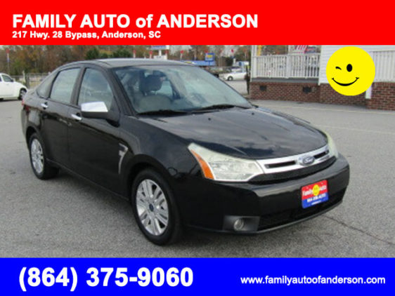 used ford focus in anderson