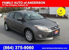 used ford focus anderson