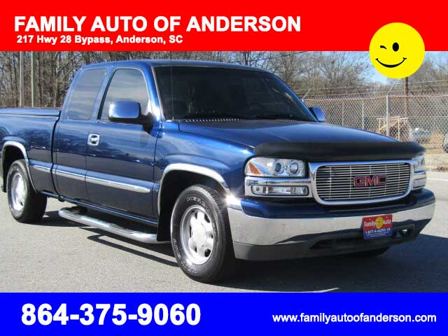 2000 Gmc Sierra Family Auto Of Anderson
