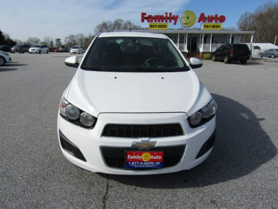 2014 chevrolet sonic family auto of anderson. Black Bedroom Furniture Sets. Home Design Ideas