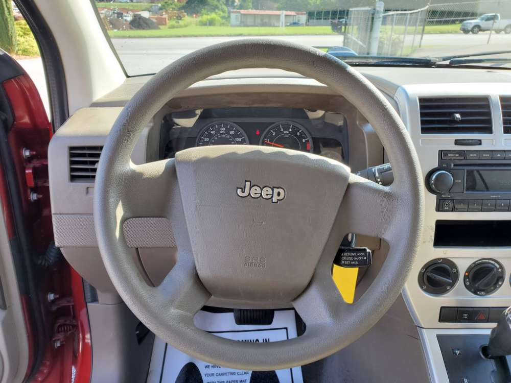Jeep Compass 2008 Red