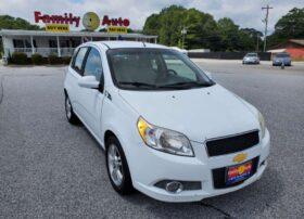 Chevrolet Aveo5 2011 White