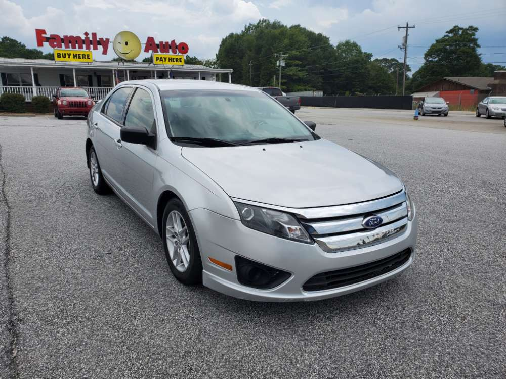 Ford Fusion 2011 Silver