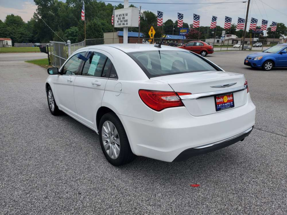 Chrysler 200 2014 White