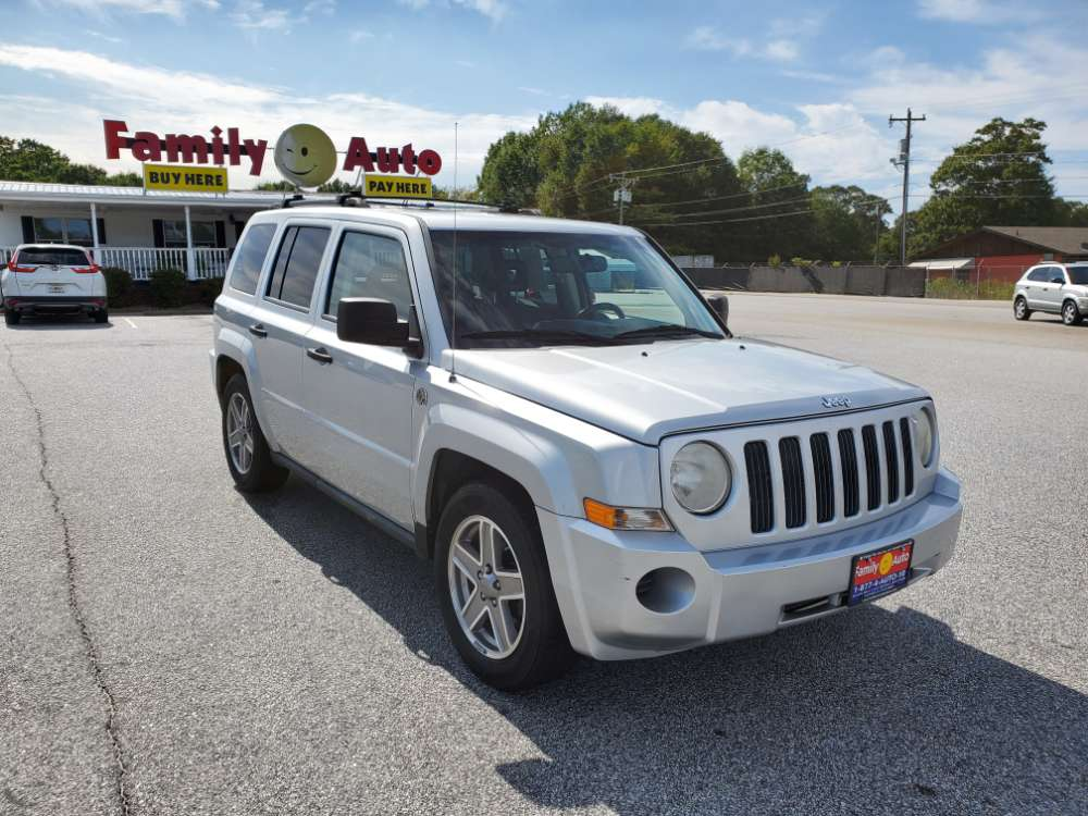 Jeep Patriot 2008 Silver