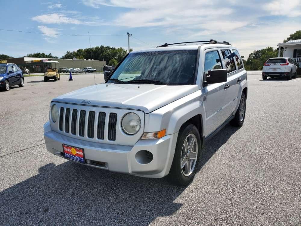 Jeep Patriot 2008 Silver