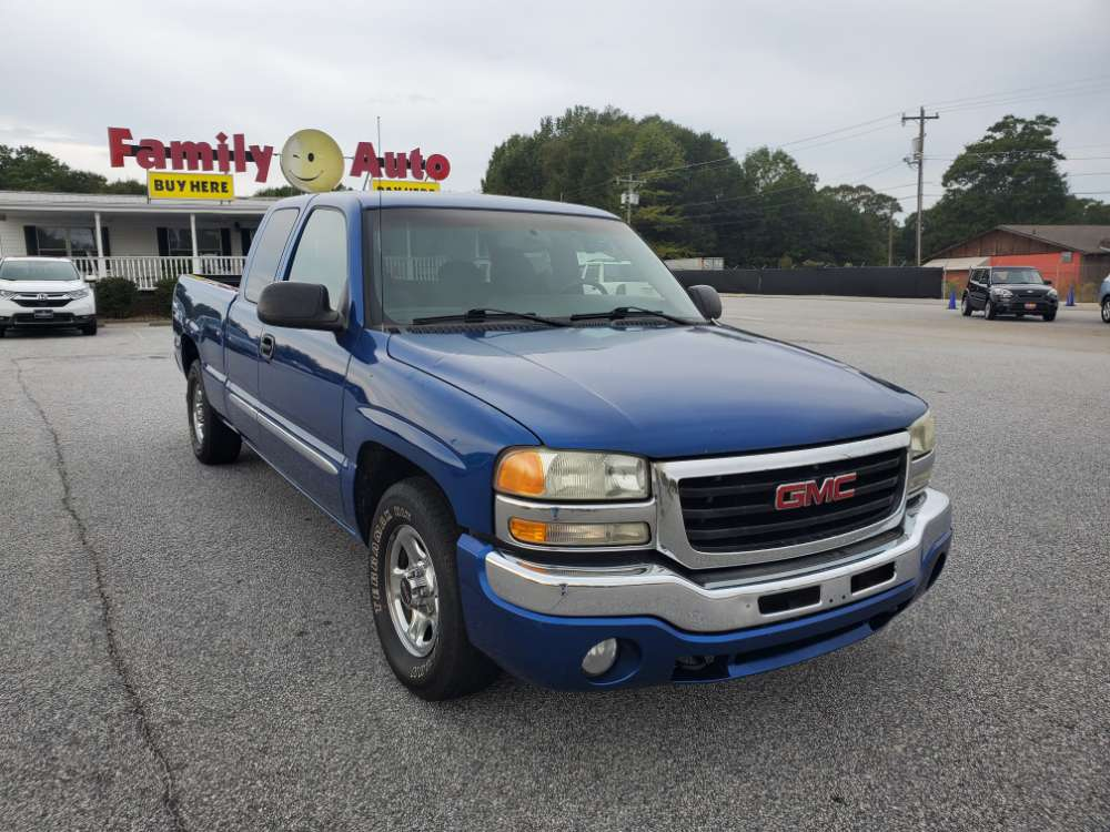 GMC Sierra 2003 Blue