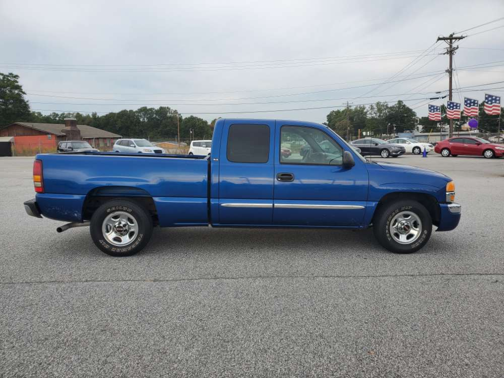 GMC Sierra 2003 Blue