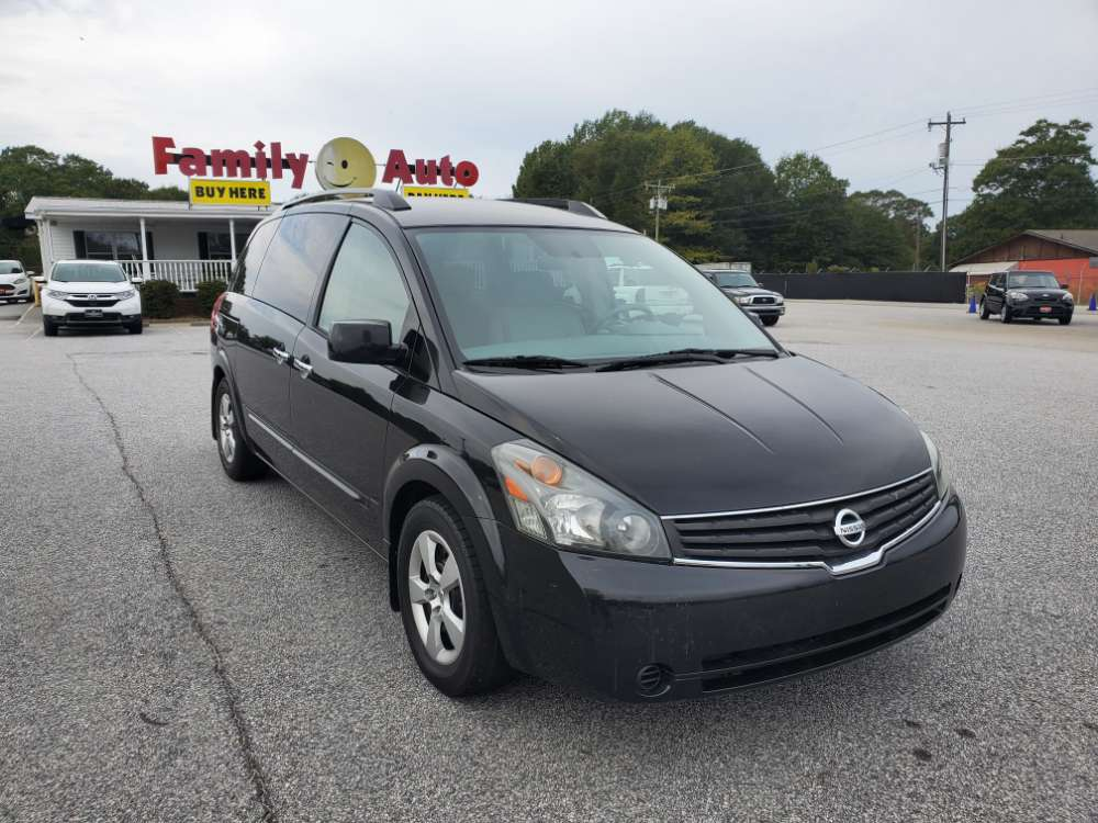 Nissan Quest 2008 Black