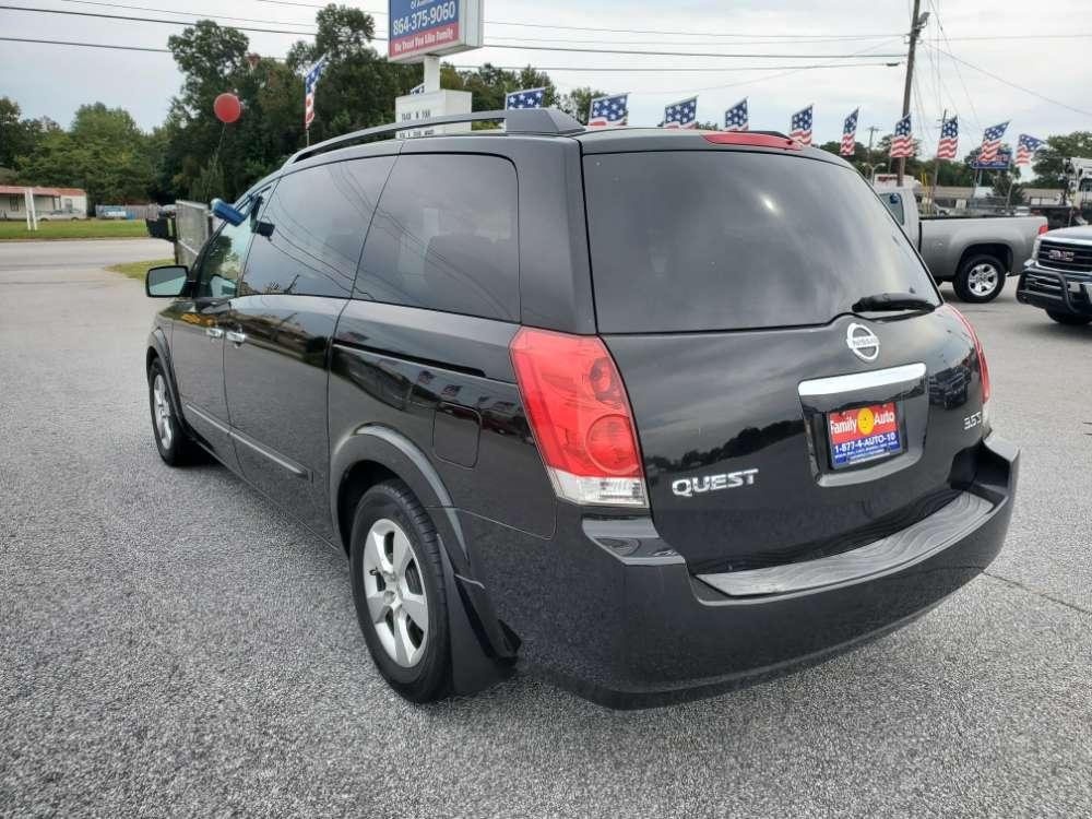Nissan Quest 2008 Black