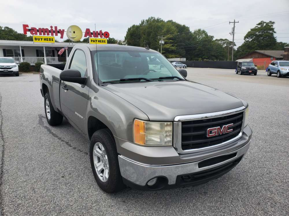 GMC Sierra 2009 Gray