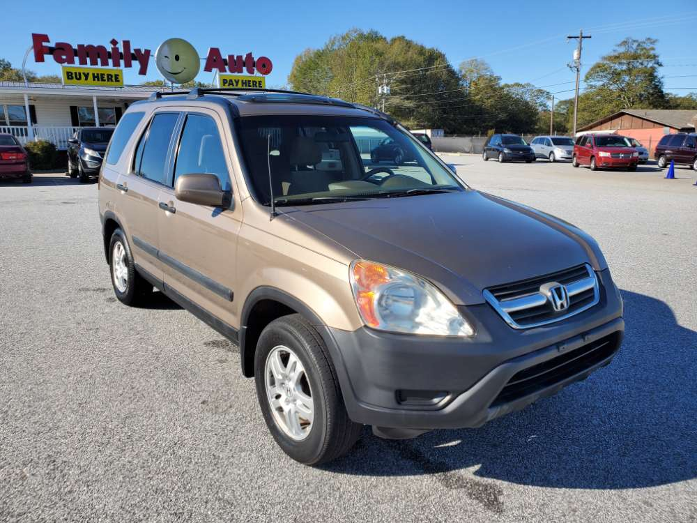 Honda CR-V 2003 Bronze