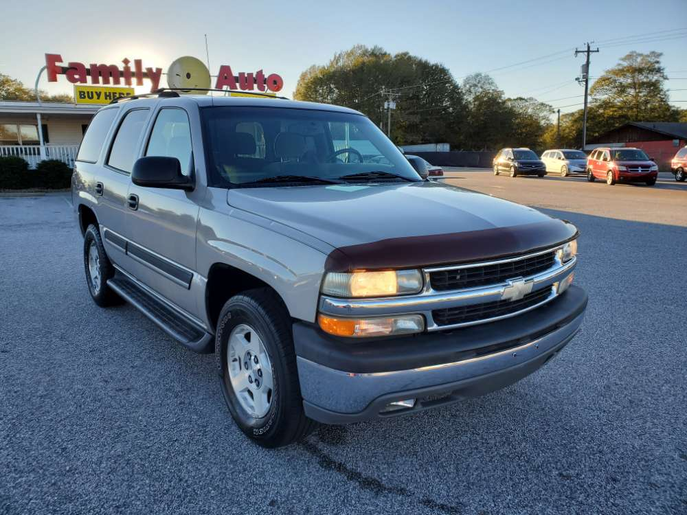 Chevrolet Tahoe 2004 Tan