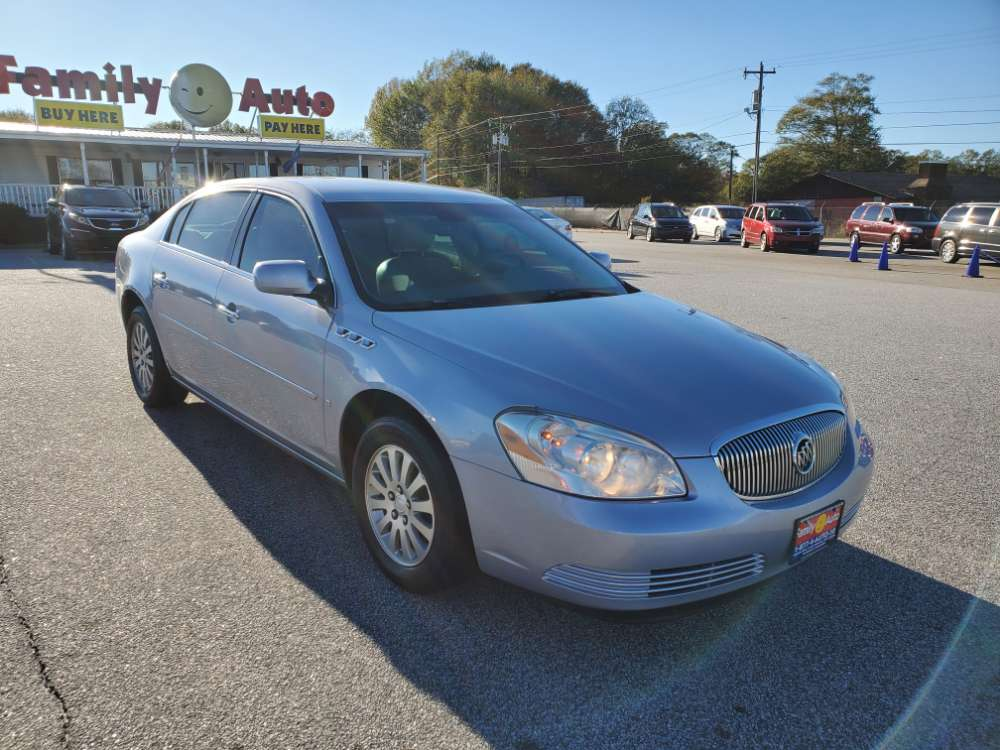 Buick Lucerne 2006 Silver