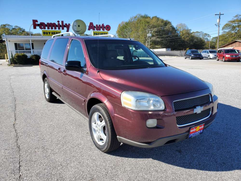 Chevrolet Uplander 2006 Purple