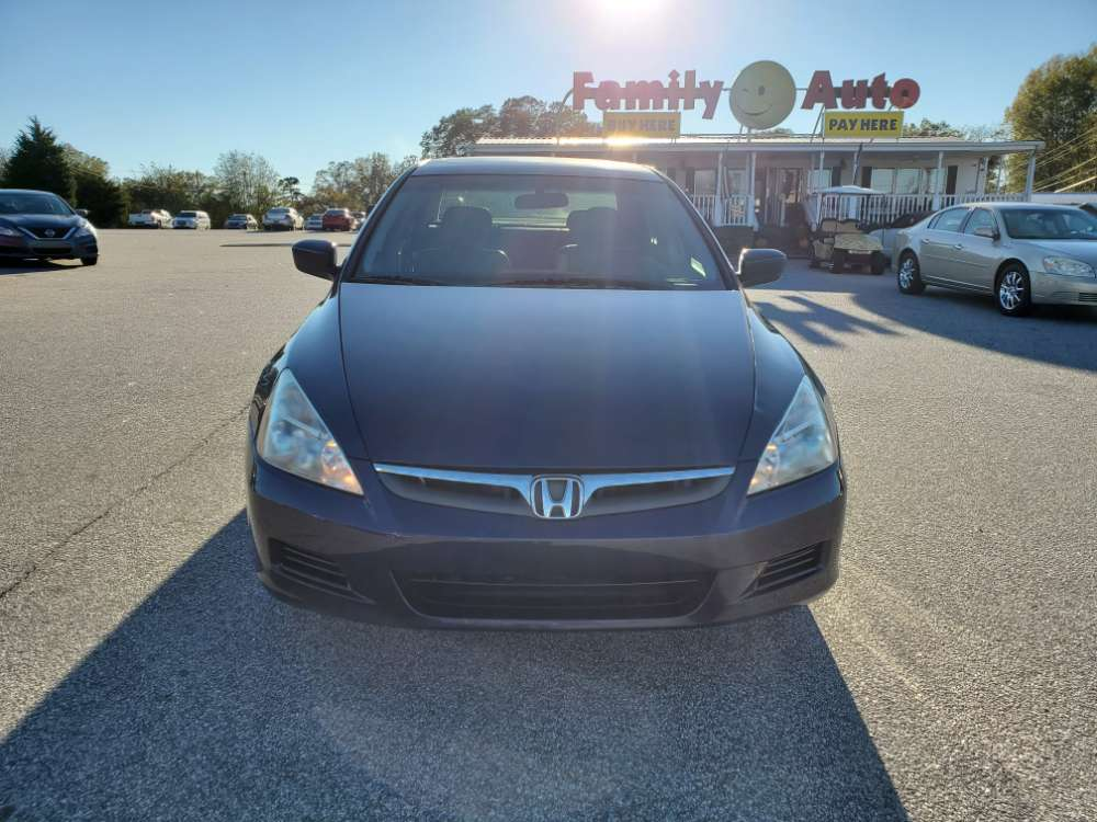 Honda Accord 2006 Blue