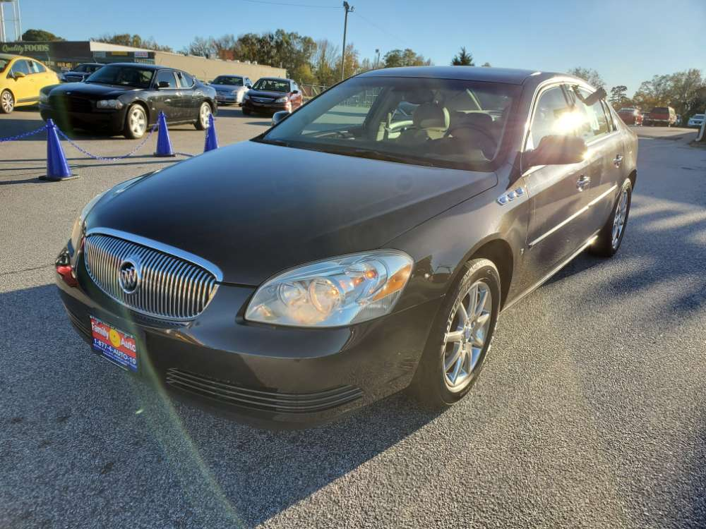 Buick Lucerne 2007 Brown