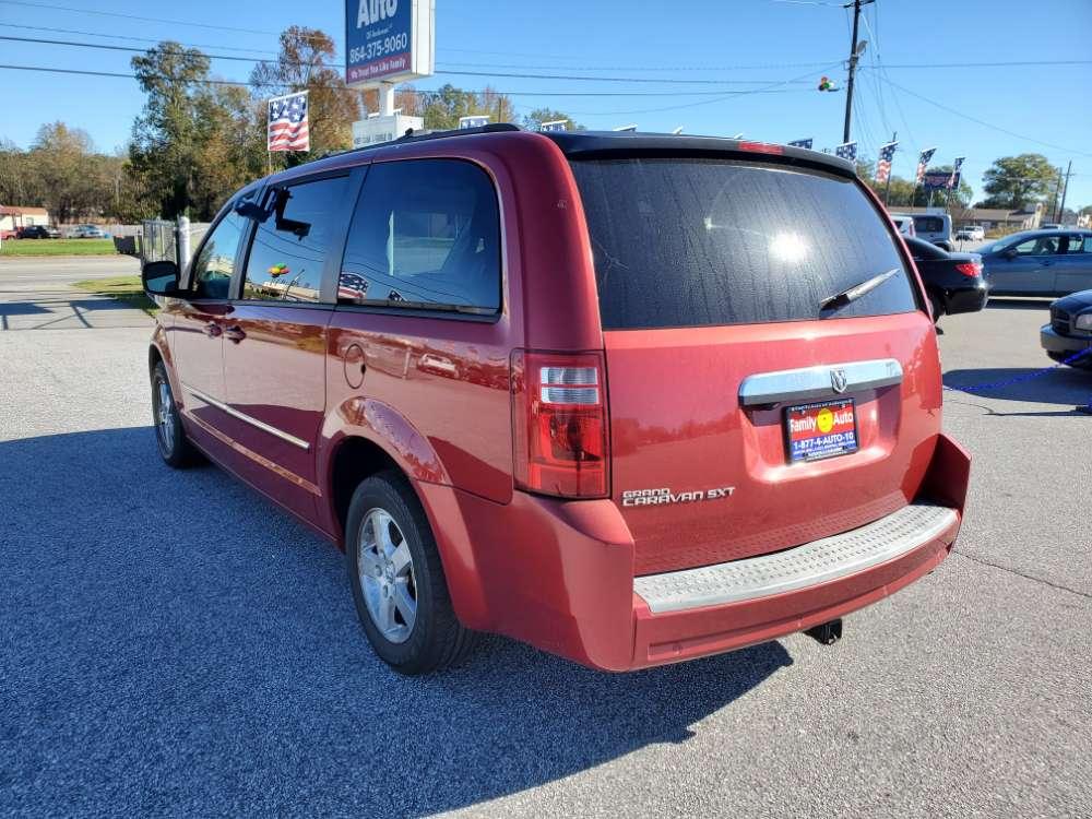 Dodge Grand Caravan 2008 Red