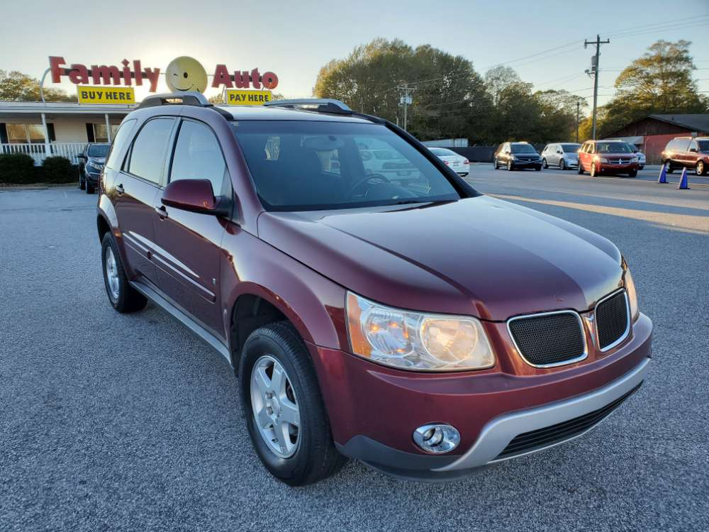 Pontiac Torrent 2008 Maroon