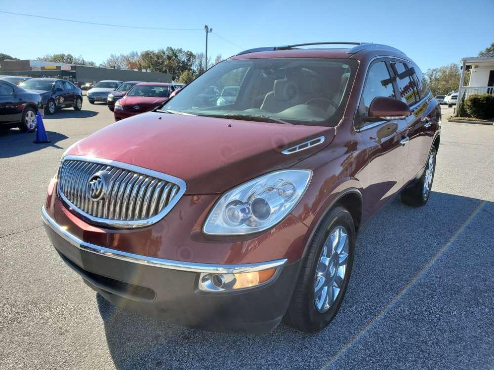 Buick Enclave 2011 Maroon