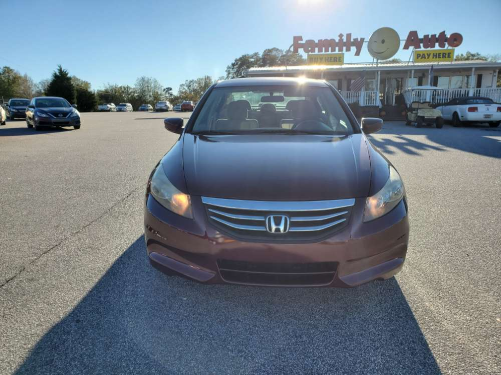 Honda Accord 2012 Burgundy