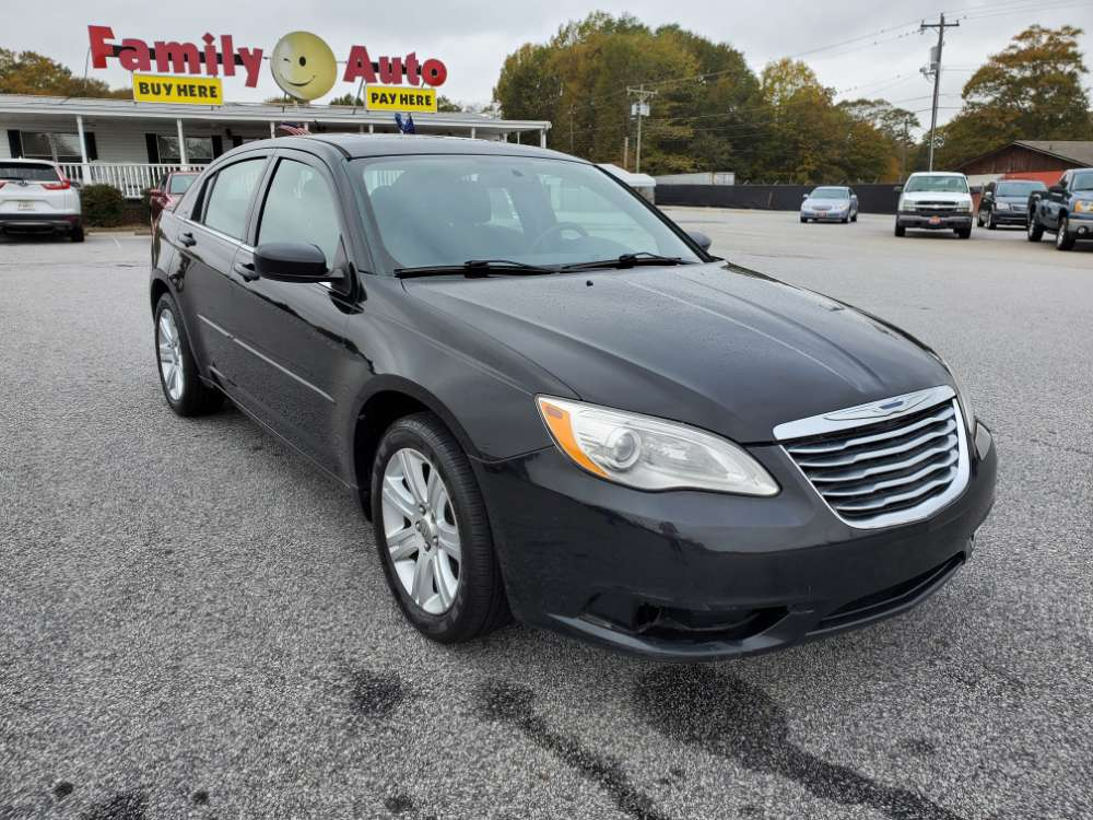 Chrysler 200 2013 Black