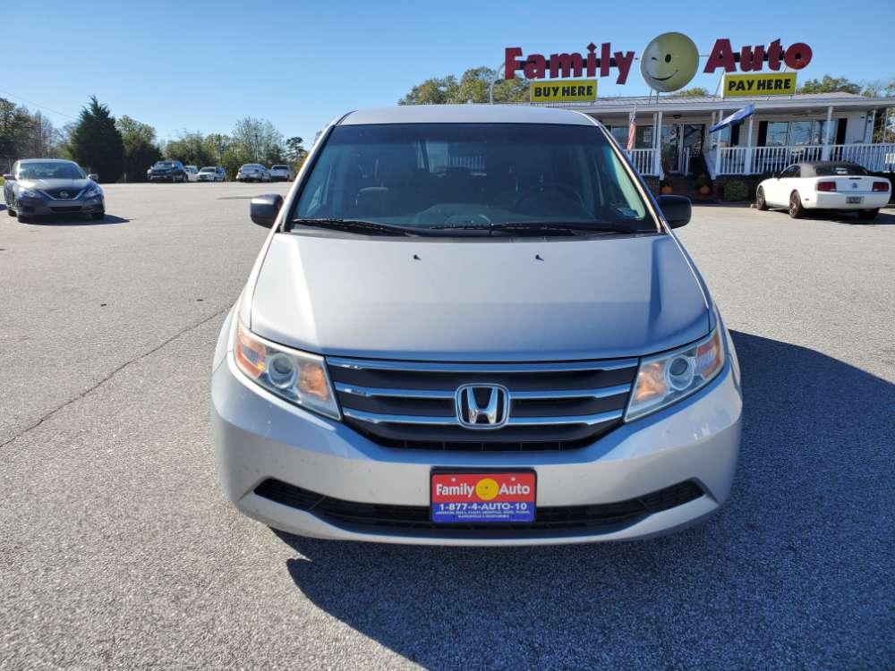 Honda Odyssey 2013 Silver