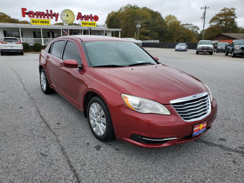 Chrysler 200 2014 Maroon