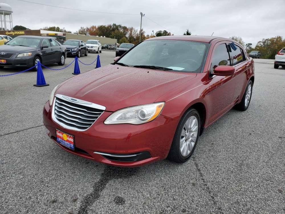Chrysler 200 2014 Maroon