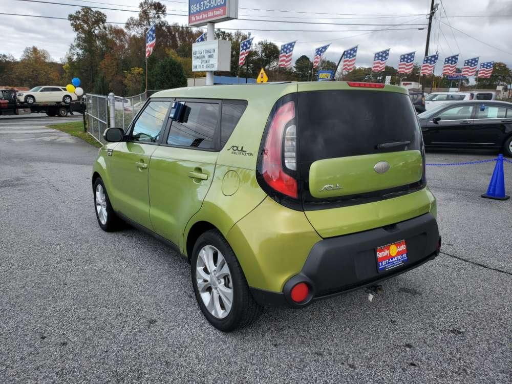 Kia Soul 2014 Light Green