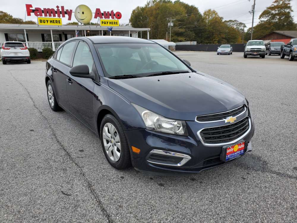 Chevrolet Cruze 2016 Dark Blue