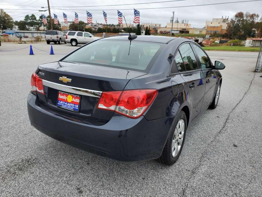Chevrolet Cruze 2016 Dark Blue