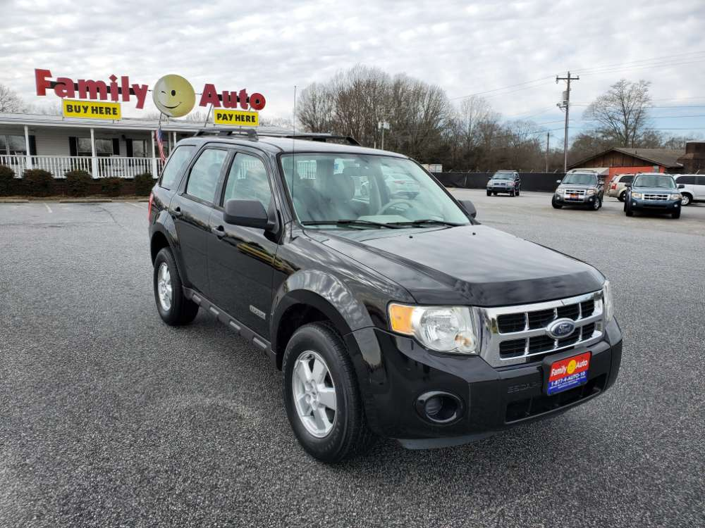 Ford Escape 2008 Black
