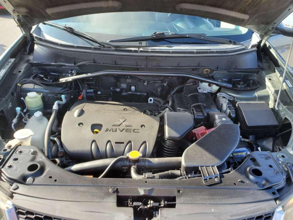Mitsubishi Outlander 2009 Green