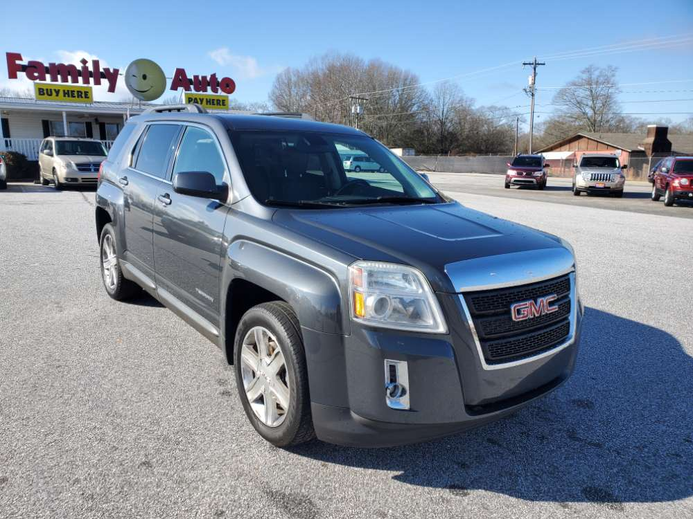GMC Terrain 2010 Gray
