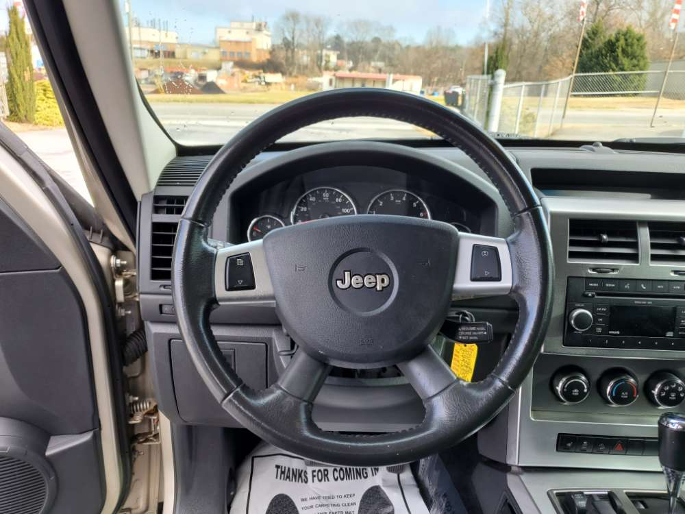 Jeep Liberty 2010 Gold