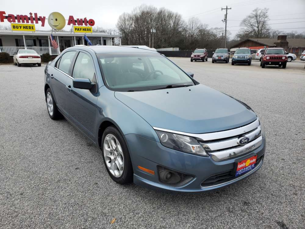 Ford Fusion 2011 Blue