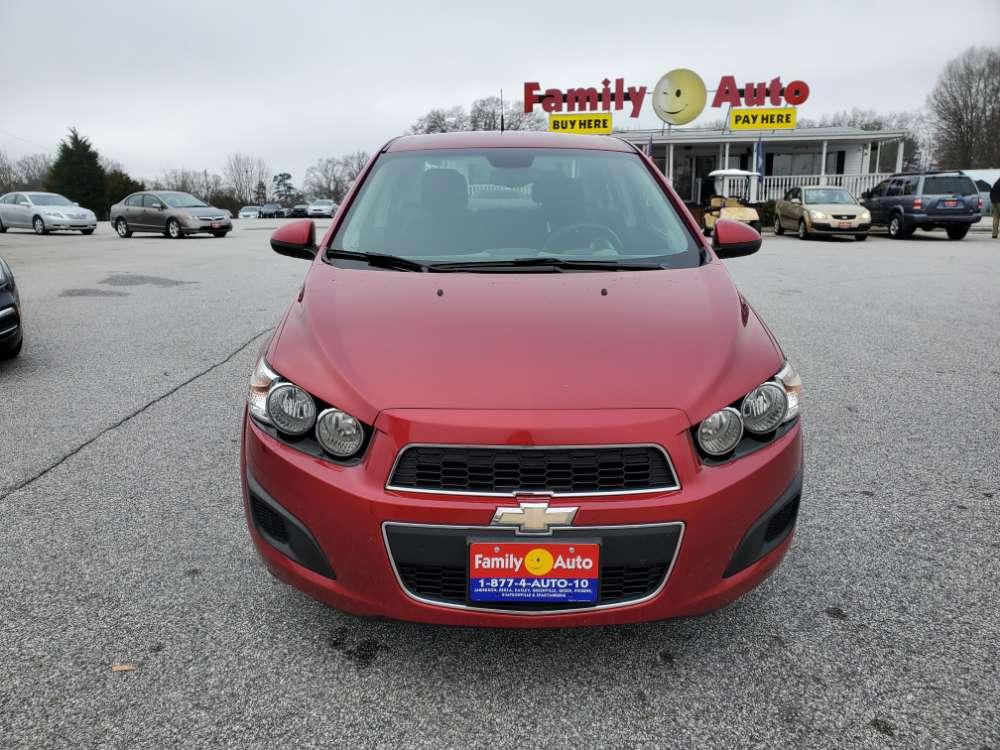 Chevrolet Sonic 2013 Red