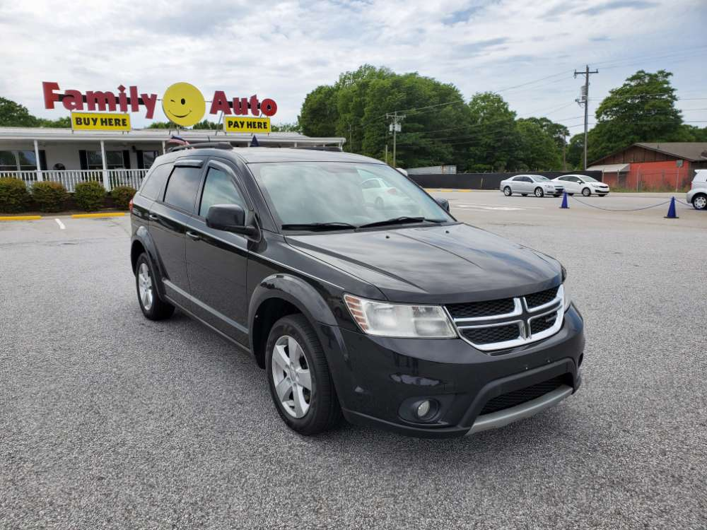 Dodge Journey 2012 Black