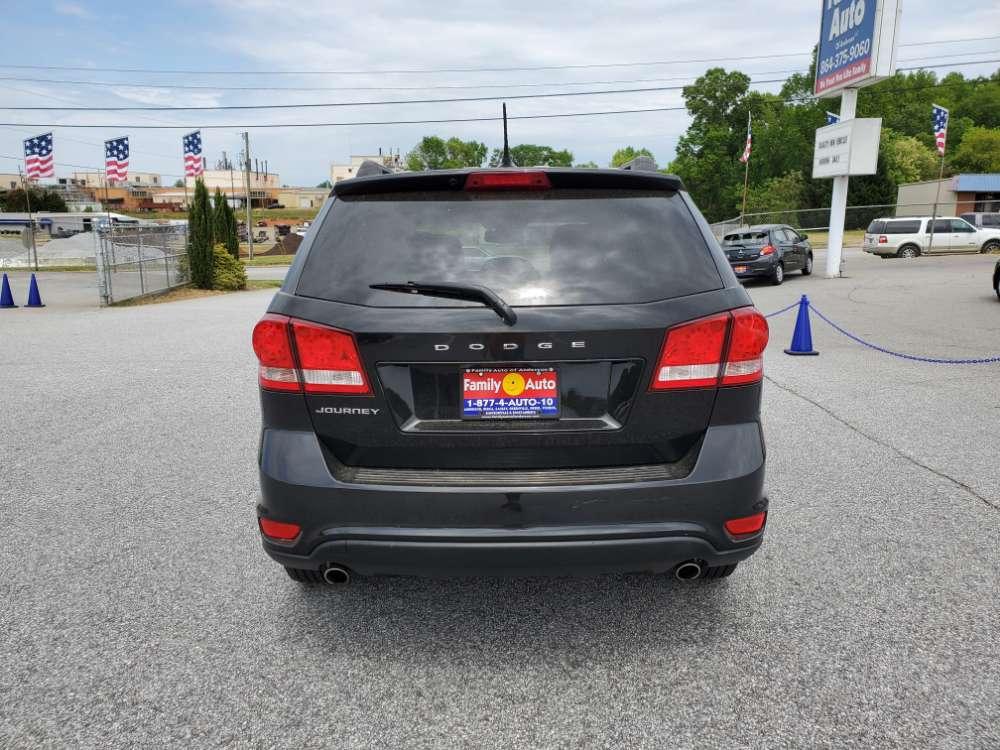 Dodge Journey 2012 Black