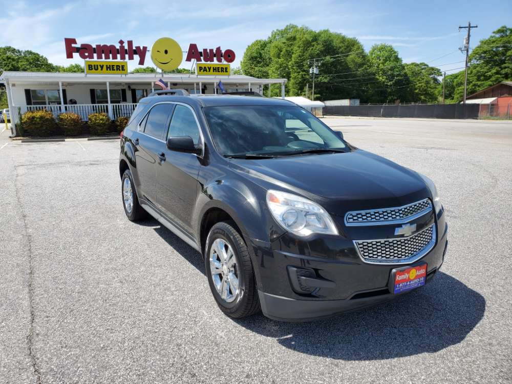 Chevrolet Equinox 2013 Black