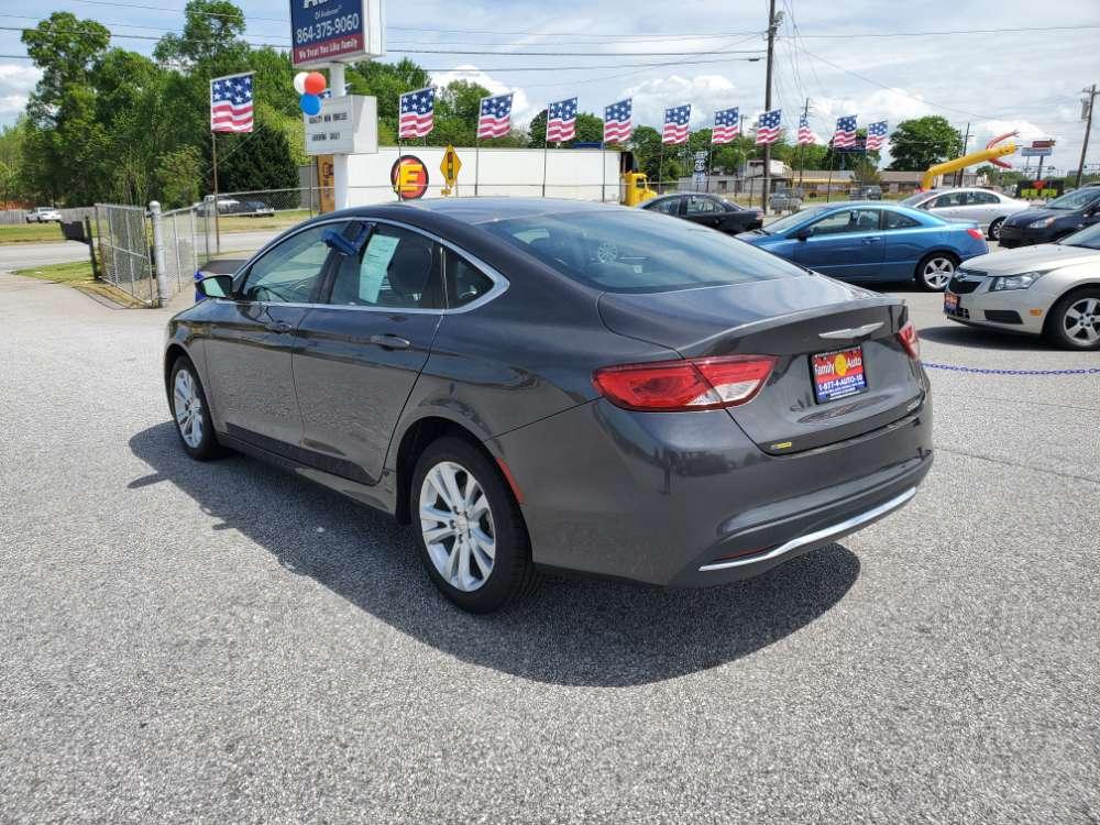 Chrysler 200 2015 Gray