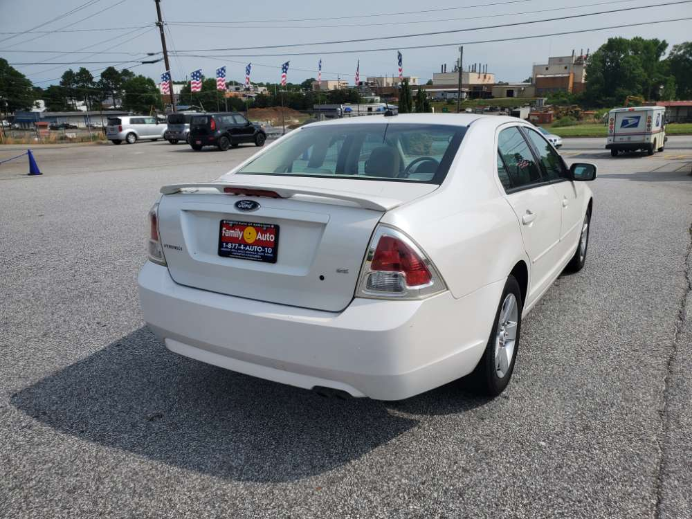 Ford Fusion 2009 White
