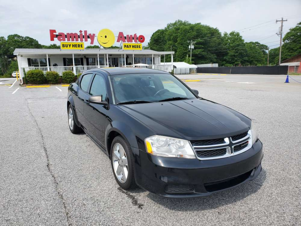 Dodge Avenger 2013 Black