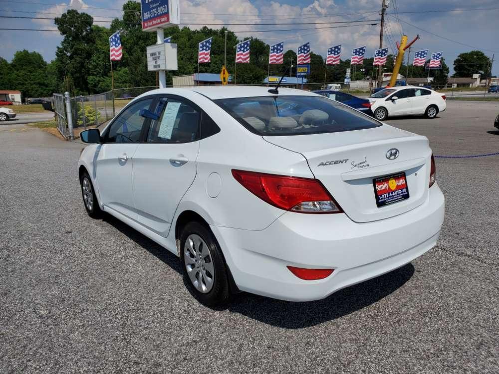Hyundai Accent 2016 White